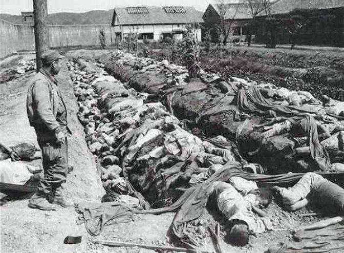 한국전쟁 민간인 학살 자료사진. 사진은 기사 내용과 상관없음.